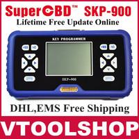 Lifetime Free Update Online+no tokens limitation 2014 Original SuperOBD SKP-900 V2.8 Auto Key Programmer OBD2 SKP900 Key Maker