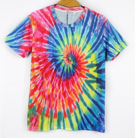 Fashion New Mens 3D T shirt Casual Tshirts For Men Funny Hip Hop T shirts Short Sleeve Rock Men Clothing Tie Dye Top Tees N3DT(China (Mainland))