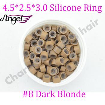 Ангелы чарли 1 бутылка # блондинка 4.5 мм * 2.5 мм * 3 мм силиконовые микроринг / ...
