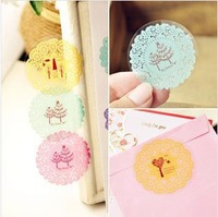 Online Shopping!Scrapbook Ideas DIY Cute Lace Stickers / Creative Scrapbook Stickers Decals for Decorate Notebook Photo Frame