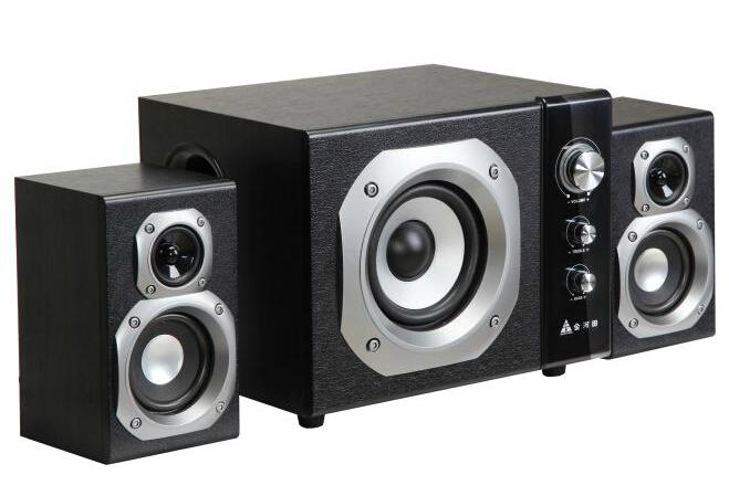 Golden field s100 2.1 computer multimedia active speaker notebook subwoofer audio wool black(China (Mainland))