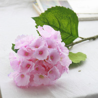 (10 pcs/lot) Free shipping  simulation Guelder artificial flower wedding decorative home decoration silk fake flower