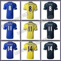 2014-15 Premier League Blue Legion Thailand quality Chelsea Home Away soccer jersey HAZARD,TORRES,WILLIAN#22,OSCAR #8,DROGBA #11