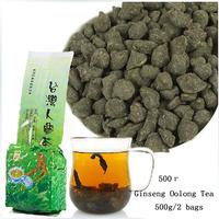 500g 2 bags Free Shipping Famous Health Care Tea Taiwan Dong ding Ginseng Oolong Tea Ginseng Oolong ginseng tea