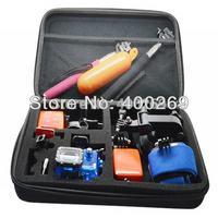 Big size collection box for GoPro Hero 4/3+/3/2/1/SJ4000 travel box , Size: 32*22*7CM, Material: EVA GP110