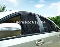 2PCS/LOT 50L size car curtain mesh cloth 19.7inch car care product