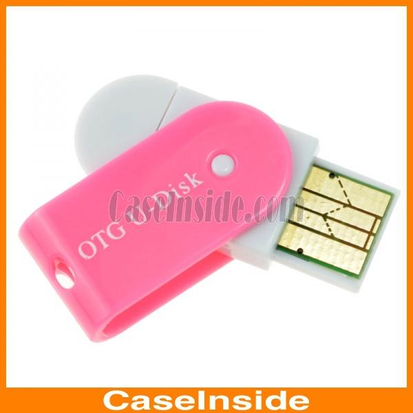 Tf micro sd card lettore con OTG e interfaccia usb 2-in-1 usb flash ...