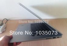 14 Inch Slim HDMI Laptop Intel D2500 Dual Core 4GB RAM 160GB HDD 14inch Notebook Chile Peru Venezuela Laptops with Free shipping(China (Mainland))