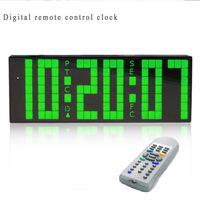 2014 new model Promotion! Fashion Creative Led digital wall table alarm clock modern design free shiping