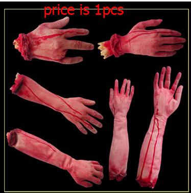 Nep bloed hand prothetische hand horror grote gebroken met de hand