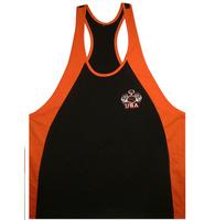 New Golds fitness vest male fitness  sports vest male tank 100% cotton loose o-neck Vests Men M-XXL