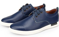 British Style Genuine Leather MENS Boots, Business Casual Leather Shoes Mens Boots, Spring&a