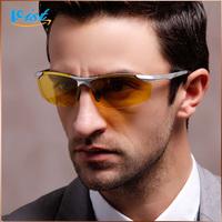 Free Shipping 2014 New Clear Sunglasses Men Polarized Black Eyewear  Men Driver Uv400 Sunglasse Wholesale
