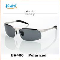 Hot Free Shipping 2014 New Summer Glasses Men Black Polarized  Male Vintage Uv400 Sunglass Hut  2Pcs/5% Off