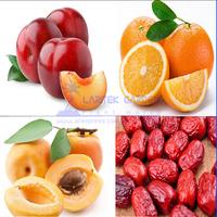 4 Professional Packs,10 Seeds/Pack, Taste Tempting Fresh Fruit Mini Potted, Courtyard *Orange, Apricot, Jujube, Plums* Tree Seed