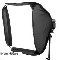 "Wholesale FOTGA 20"" Portable 50cm Softbox Soft Box for Flash Light Speedlite Photo Speedlight"