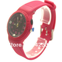 2014 Brand Women Sports Watches Waterproof 100m LED Light women Quartz  Swim Dive Wristwatch Japan Movement Back Light
