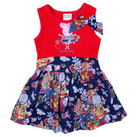 Retail New Arrive cotton peppa pig 2014  girl summer dress