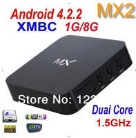 XBMC Android TV set top box/ Google Amlogic 8726-MX2/ Dual core 1.5GHz 1G RAM 8G/ HDMI AV/ Android 4.2.2