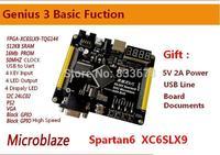 Xilinx fpga development board spartan6 slx9 include USB Cable and 10M net module