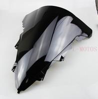 motorcycle Black Windscreen Windshield For Yamaha YZF R1 2009 2010 2011