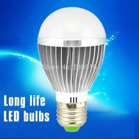 SMD5730 Alluminum Light Bulb 5W E27 B22 E14 LED Bulb Lamp, AC110V-130V/AC200V-240V White/Warm White 1Pcs only  Free Shipping