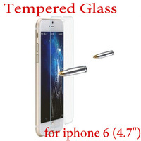 Real! Explosion Proof LCD Clear Front Ultra Thin Premium Tempered Glass Film Screen Protector For Apple iphone 6 6G 4.7inch
