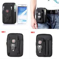 Men Waist Pack 2014 Oxford Cloth Pocket Wear Belt Mobile Phone Pocket Men Sports Waist Packs Men Messenger Bags Male Travel Bag