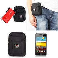 HOT SALE Men Waist Packs 2014 New Men Outdoor Casual Canvas Packet Waist Bags Phone Package Men Travel Waist Bags Men Belt Bags