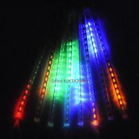Drop Shipping 5PCS/LOT 30CM Meteor Shower Rain Tubes LED Light For Garden Decoration 100-240V/US Plug TK1168 b014