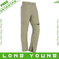 Top outdoor fun & sports quick-drying pants  waterproof outdoor pants hiking multi pocket  plus size camping pants
