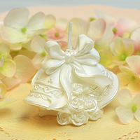 [1pc] Birthday wedding candle romantic candle the wedding candle bell small gift christmas candle