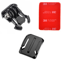 Camera Helmet Curved Surface + Mount + 3M VHB Sticker for GoPro HD Hero3+ 3 2 1 ST-13