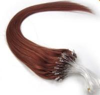100% Natural virgin remy human hair extensions 100pcs/pack #M30 brush