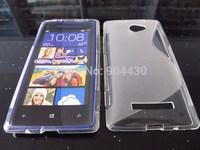 Free ship! 1pc for HTC 8X C620e Windows Phone TPU gel phone cover case