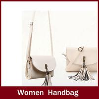 2014 personality small bag tassel messenger bag vintage women's handbag shoulder bag