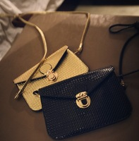 2014 toothpick small women bag mobile phone bag fashion one shoulder cross-body mini envelope clutch handbag messenger bags