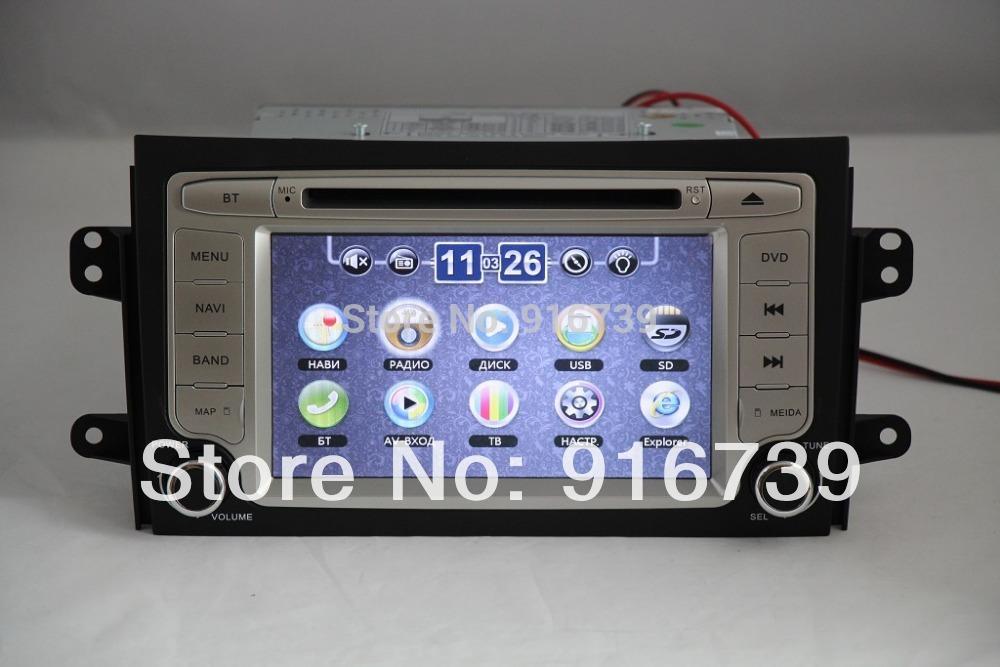 special car dvd for Suzuki SX4 2006-2012 with free map+car radio for suzuki SX4 +3G HOST+Russian menu(China (Mainland))