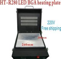 Freeshipping! 110 / 220V hontont HT-R280 solder ball welding machine / welder bga rework machine, heating plate to rebll chip