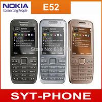 Original Refurbished Nokia E52 Phone 1500mAh 3G Cell Phone support Russian Keyboard