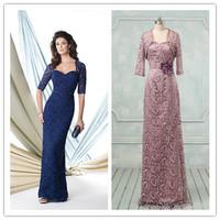 Fashion Half Sleeve Lace Mother Of Bride Dress(MOMO-3038)