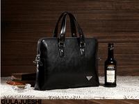 Hot-selling ! genuine leather  bag commercial handbag shoulder bag fashion male messenger  briefcase bag