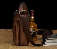 Free shipping  quality new design  commercial men shoulder bag messenger bag casual handbag