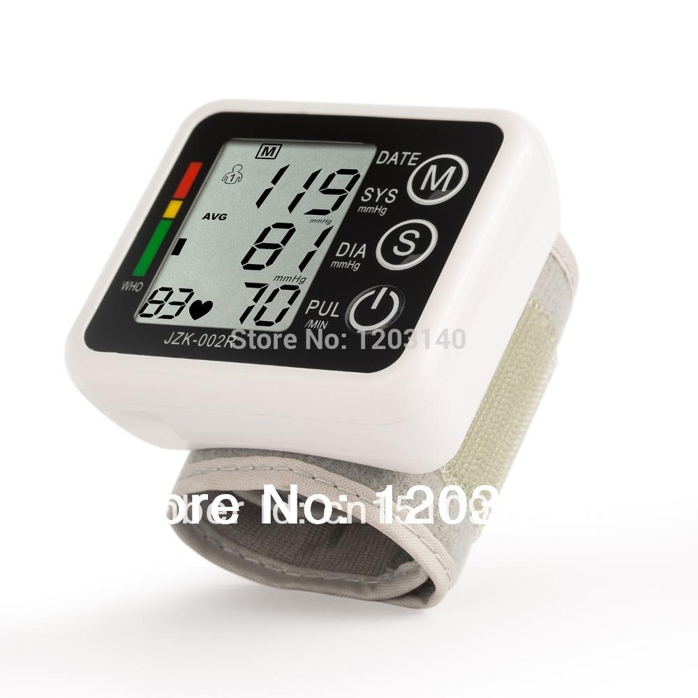 A casa uso facile da polso della pressione arteriosa digitale schermo lcd battito cardiaco& impulso monitor assistenza sanitaria monitor con spedizione gratuita