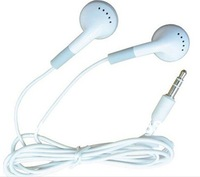 2000pcs FREE SHIPPING headphones headset 3.5mm gift earphones for mp3 mp4 CD IPHONE 3 4 5