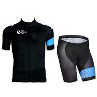 SWODART 2014 coming,sky black&blue short Sleeve bicicleta pants kit Cycling Jersey bike ropa ciclismo, spring& summer