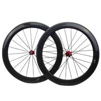 Road bike use full carbon bicycle wheel set 24mm to 88mm U shape 23mm width carbon road bike wheel set