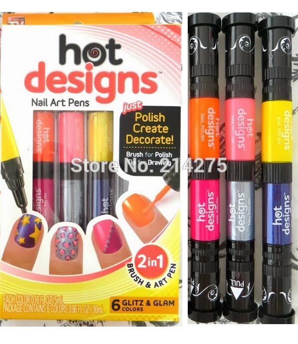 Hot Nail Art Pens Designs Car Tuning