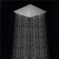 Free shipping 40cm * 40cm square showerheads. 16 inch  stainless steel ultra-thin rain shower rainfall shower head.