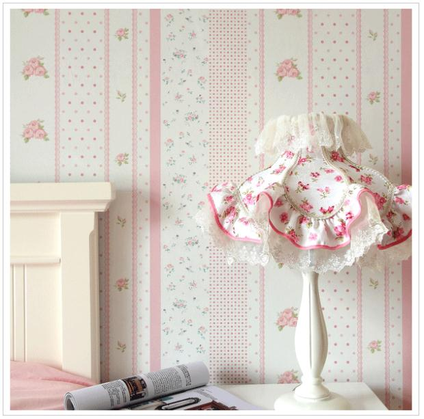 beste slaapkamer plant : roze blauw en oranje behang bloem kinderen ...